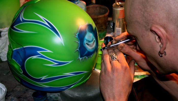 Aerografia czyli Custom Painting