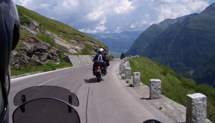 Motocyklem w Alpy  - 4000 km w  siodle Transalpa