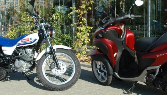 Suzuki VanVan 125 vs Yamaha Tricity - ekscentrycznie po mieście