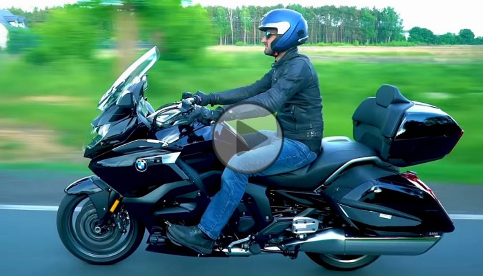 BMW K1600 Grand America [TEST VIDEO]