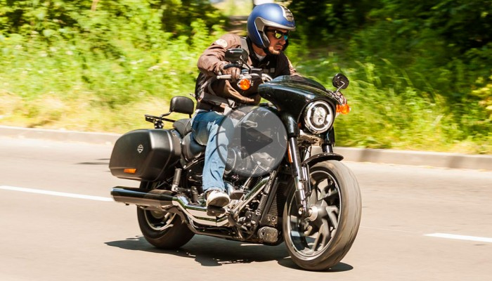 Harley-Davidson Sport Glide [TEST VIDEO]