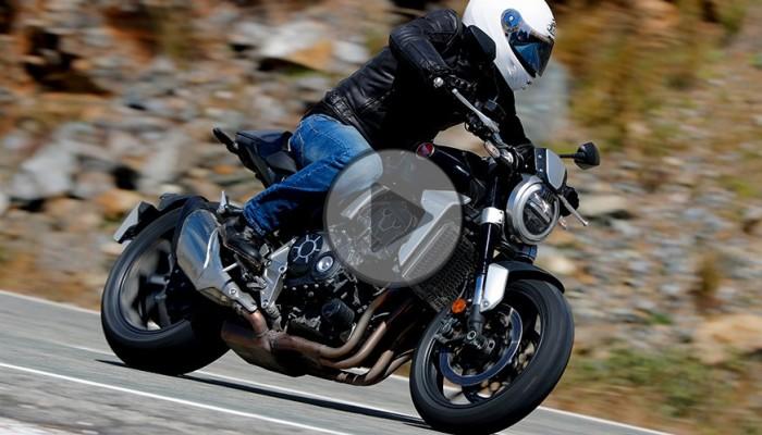 Honda CB 1000R - test premierowy [video]