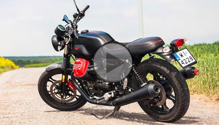 Moto Guzzi V7 III Carbon - pozytywna wibracja [TEST]