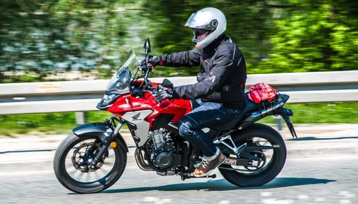 Honda CB500X test motocykla 2019 z