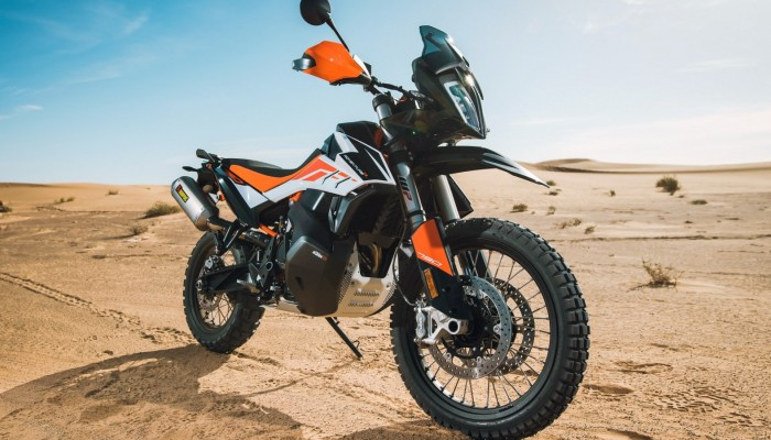 KTM 790 Adventure - pustynny lis [galeria zdjęć]