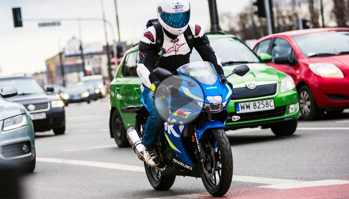 Suzuki GSX R 125 test motocykla z