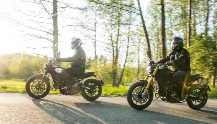 Ducati Scrambler Icon Dark i 1100 Sport Pro - turystyczna strona klasyki [GALERIA]