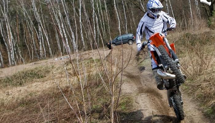 KTM EXC 200 2010 - niewymiarowy