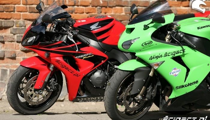 Honda CBR 1000RR kontra Kawasaki ZX 10R, czyli gwiezdne wojny