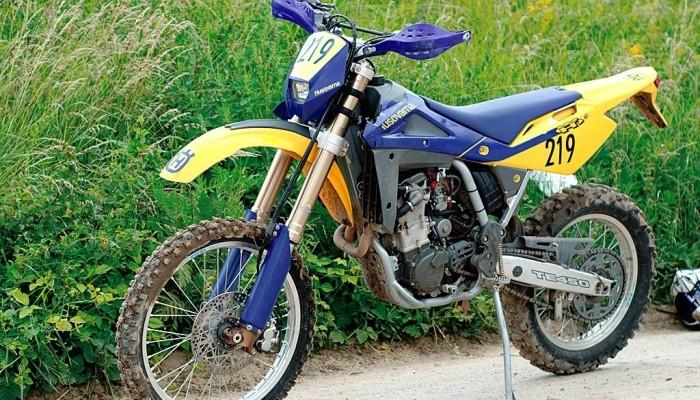 Yamaha WR 450F kontra Husqvarna TE 450