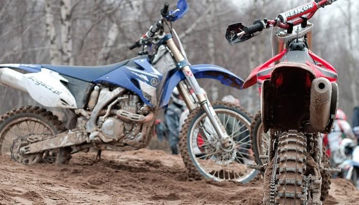 Yamaha YZF450 vs. Honda CRF450R - nie dla amatorów