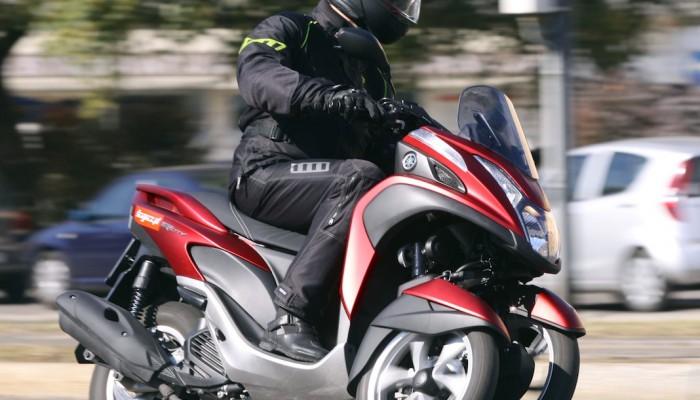 Yamaha Tricity - trzecie koło u wozu