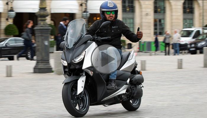 Yamaha X-MAX 125 - elegancja z charakterem [test video]