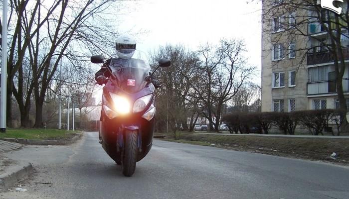 Yamaha TMAX po 25000 km - używana, jak nówka