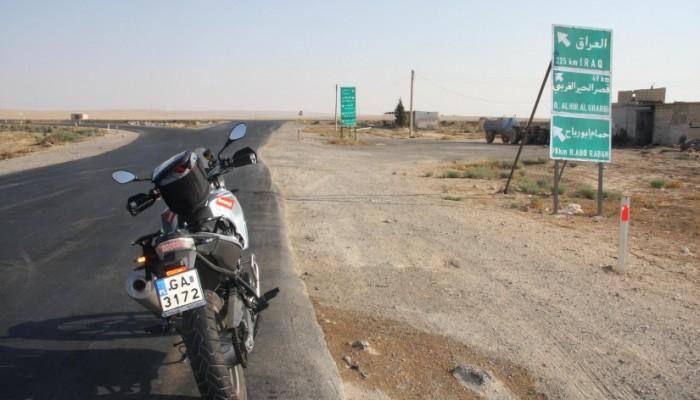 Ania Jackowska przekroczyła granicę Jordanii