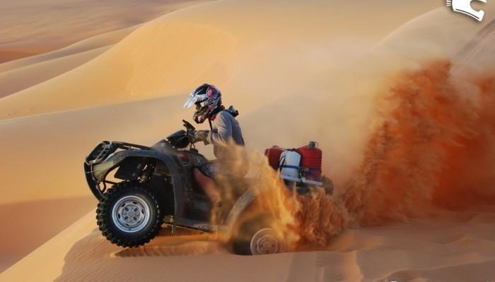 Libia Quad Adventure 2008 - znowu na maszynach