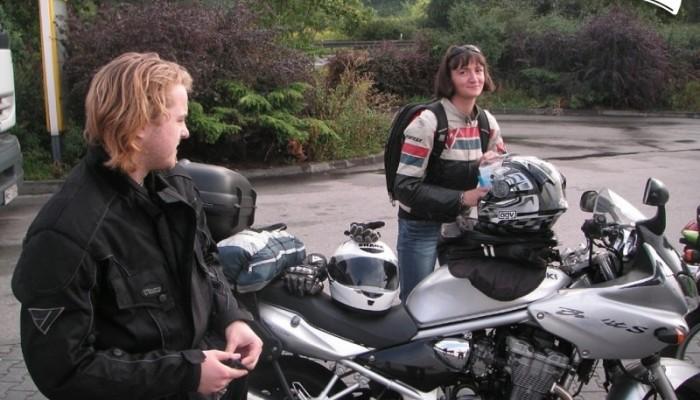 Moto GP w Brnie 2007 - moja wyprawa