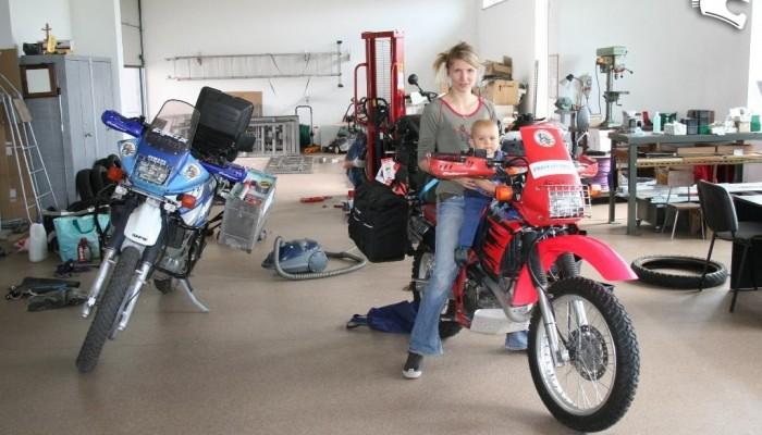 Motocyklem przez Afrykę 2009 - końcowe odliczanie przed wyjazdem