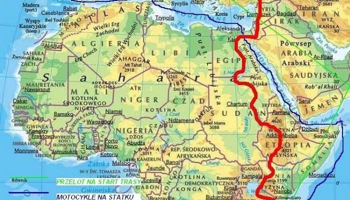 Motocyklem Przez Afrykę - przygotowania maszyn do wyprawy