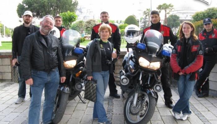 Motocyklem do Turcji - Istambuł
