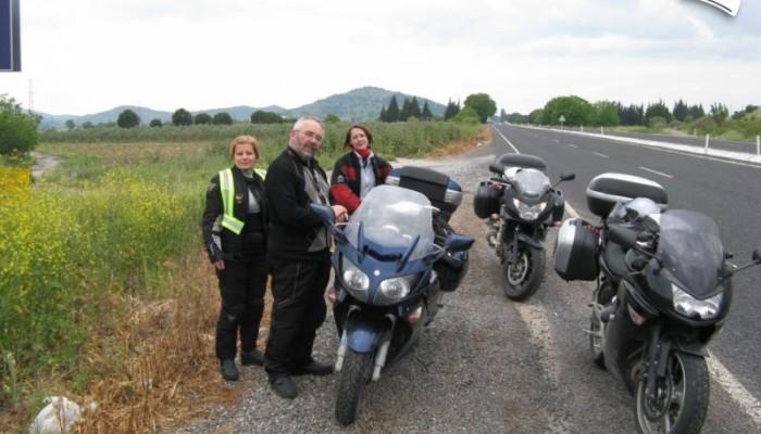 Motocyklem do Turcji - kierunek Kapadocja