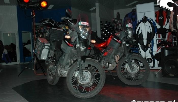 Motocyklem dookoła świata – powitanie podróżników