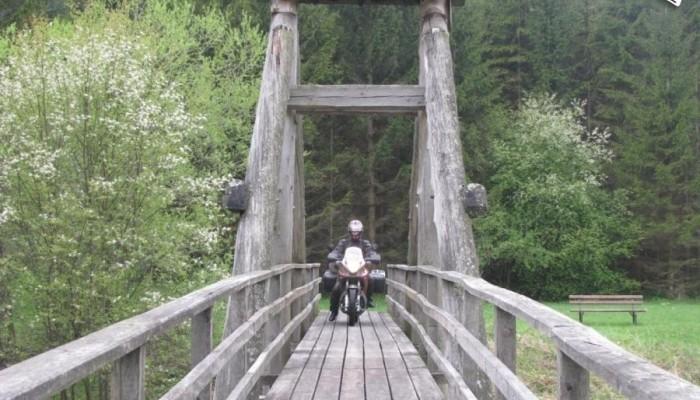 Motocyklem po południowej Europie - część pierwsza