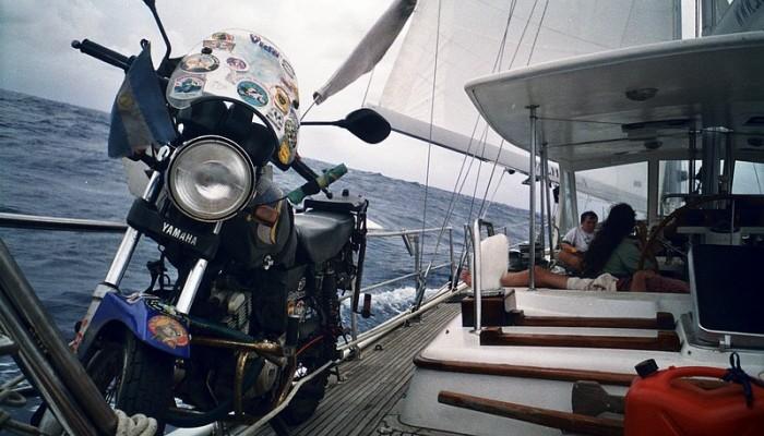 Motocyklem przez Karaiby