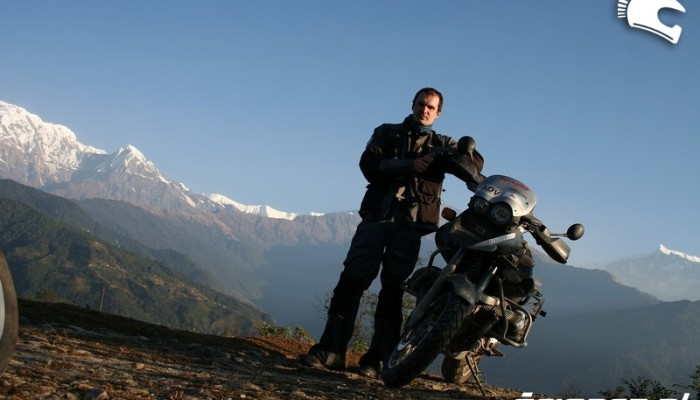 Motocyklem ze Szkocji do Nepalu - Cel osiągnięty!