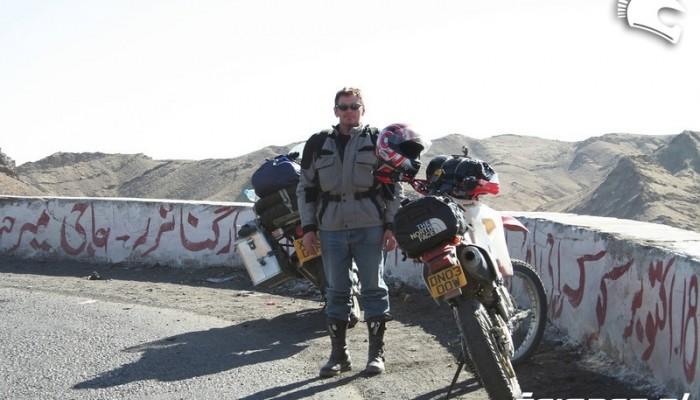 Motocyklem ze Szkocji do Nepalu - jestem w Pakistanie