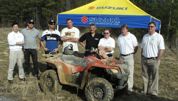 Play USA Tour zawitało do fabryki quadów Suzuki