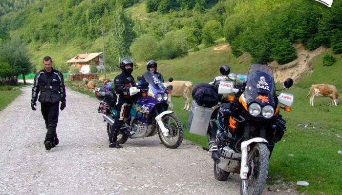 Rumunia i nie tylko – wyprawa na motocyklach