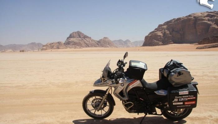 Syria i Jordania oczyma kobiety na motocyklu