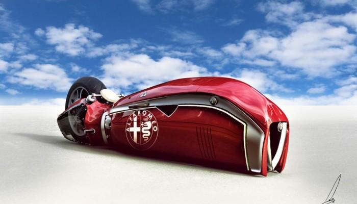 Alfa Romeo Spirito - zadziwiający projekt koncepcyjny