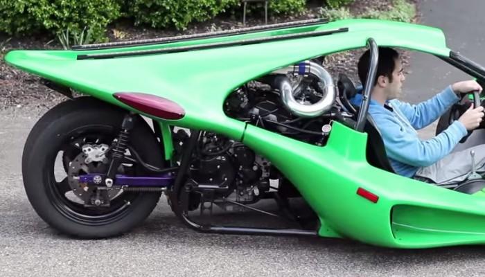 Campagna T-Rex z silnikiem Turbo Hayabusy