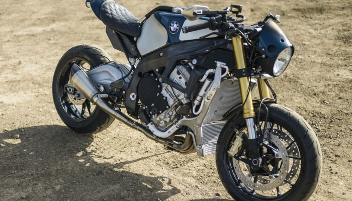 Orlando Bloom i jego customowe BMW S1000RR