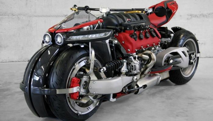 Lazareth LM 847 - 470 KM i 620 Nm w motocyklu...