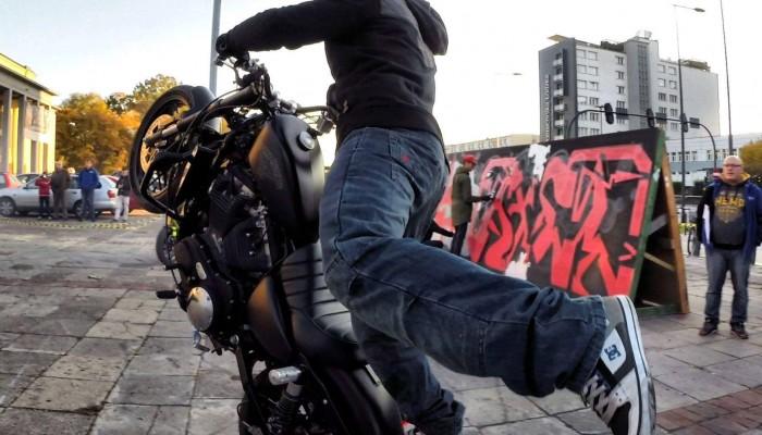 DOP - ogniwo łączące markę Harley-Davidson ze stuntem