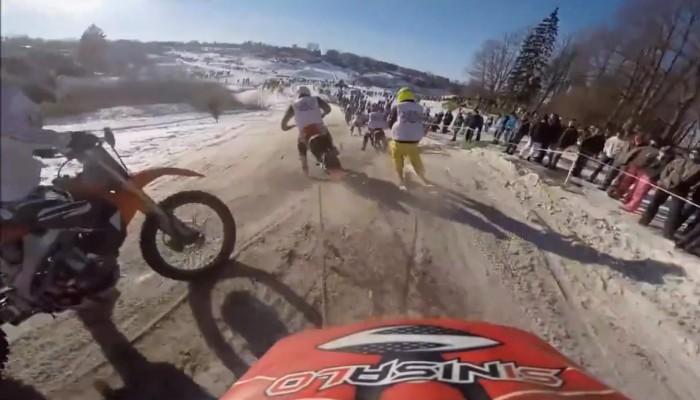 Ekstremalne zawody w skijoringu