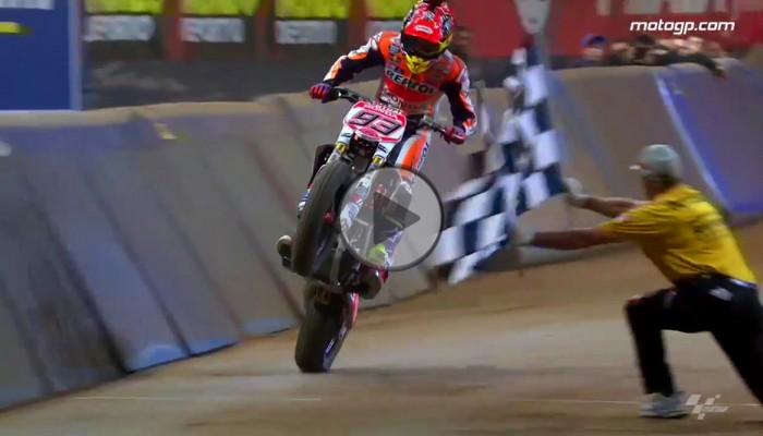 Marc Marquez wygrywa Superprestigio 2016