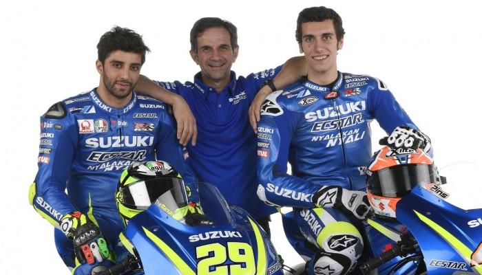 MotoGP 2017 - prezentacja Suzuki Ecstar Team