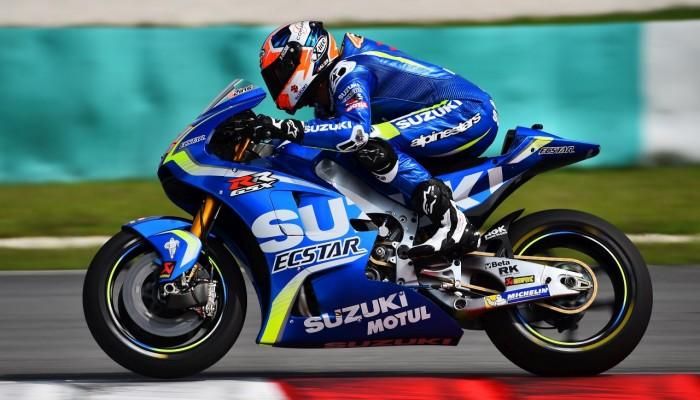 MotoGP 2017 - pierwszy dzień testów na torze Sepang