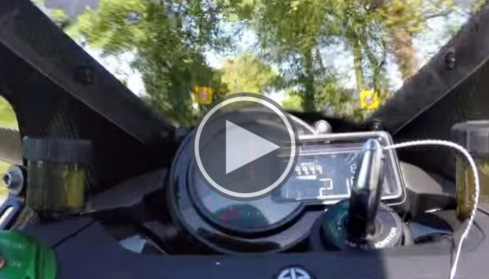 Kawasaki Ninja H2R i 331 km/h na TT 2015 na Wyspie Man