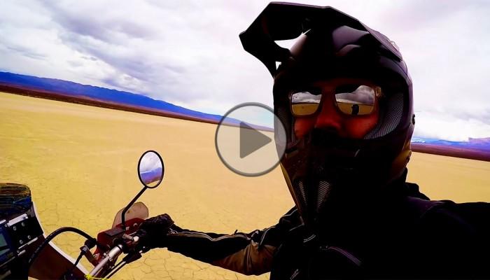 DJ Adamus na motocyklu przez Amerykę Południową [video]