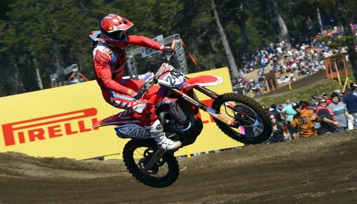 III rundę Mistrzostw Świata FIM Motocross w Argentynie dominują Gajser i Jonass