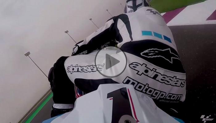 MotoGP 2017: On board z toru Losail w Katarze