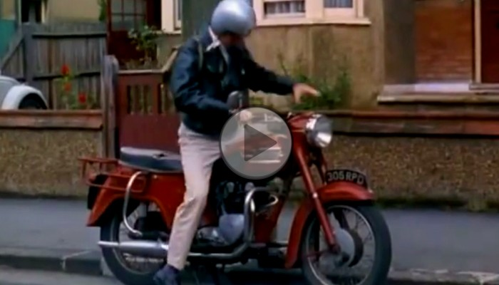 motocykl lata 60te z