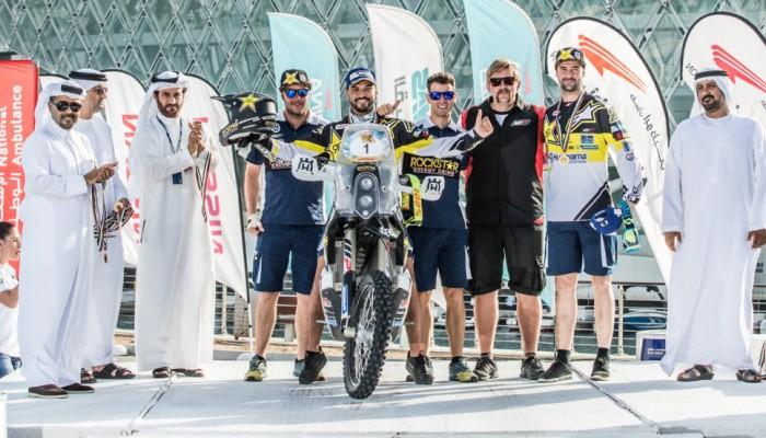 Pablo Quintanilla drugi w generalce Abu Dhabi Desert Challenge