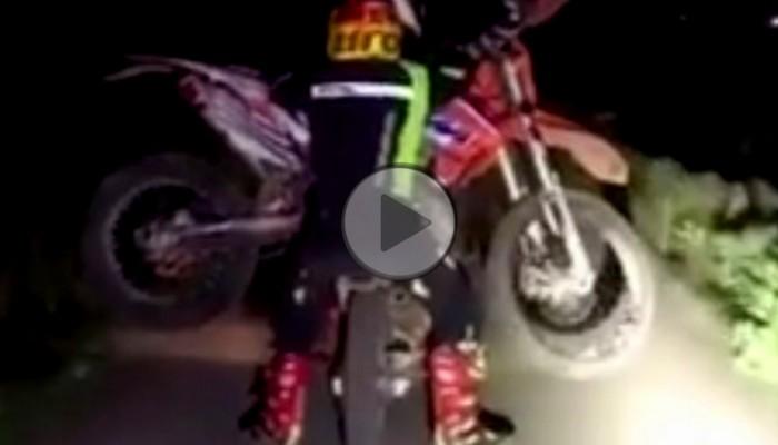 Jak przewieźć enduro przy pomocy innego motocykla enduro