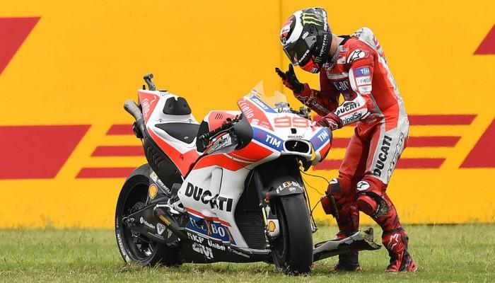 MotoGP 2017: Czy Jorge Lorenzo pożegna się z Ducati?